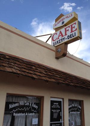 Alabama Hills Cafe Entry