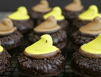 Peeps-Chocolate-Donut-Nests-from-Noble-Pig-1