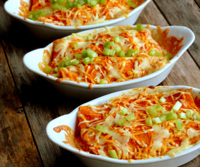 Triple-Cheese-Buffalo-Chicken-Enchiladas-