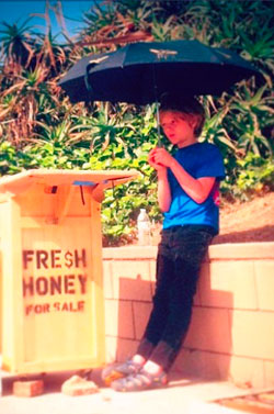 Our-first-honey-stand