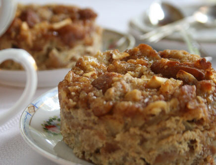 donut ball bread pudding 015