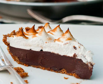 pie smores slices