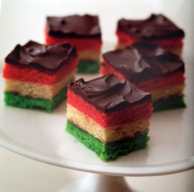 Neapolitan Cookies I Recipes — Dishmaps